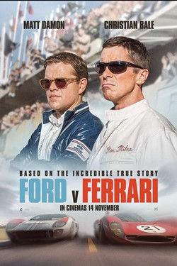 Ford V Ferrari Movie Release Showtimes Trailer Cinema Online