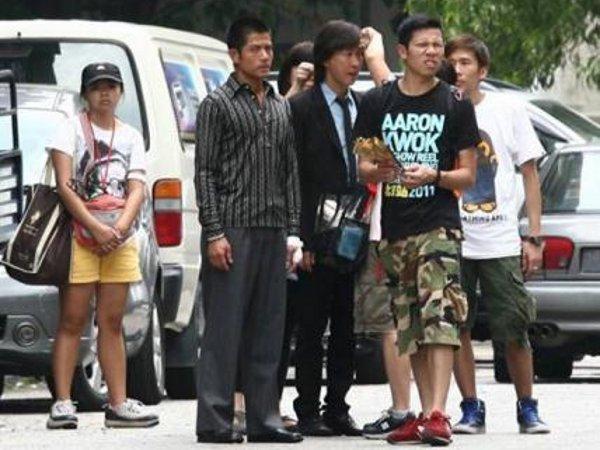 Aaron Kwok Nick Cheung In Malaysia