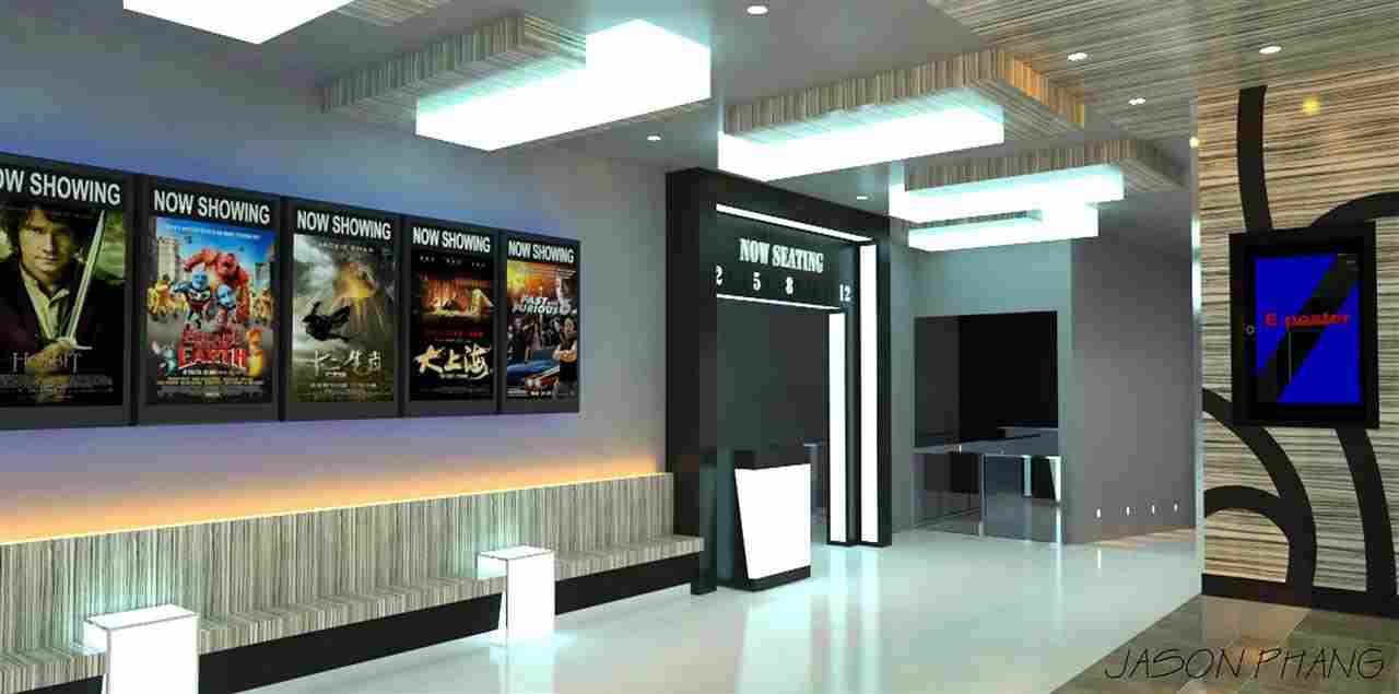 biggest cinema to open in east m 39 sia. Black Bedroom Furniture Sets. Home Design Ideas