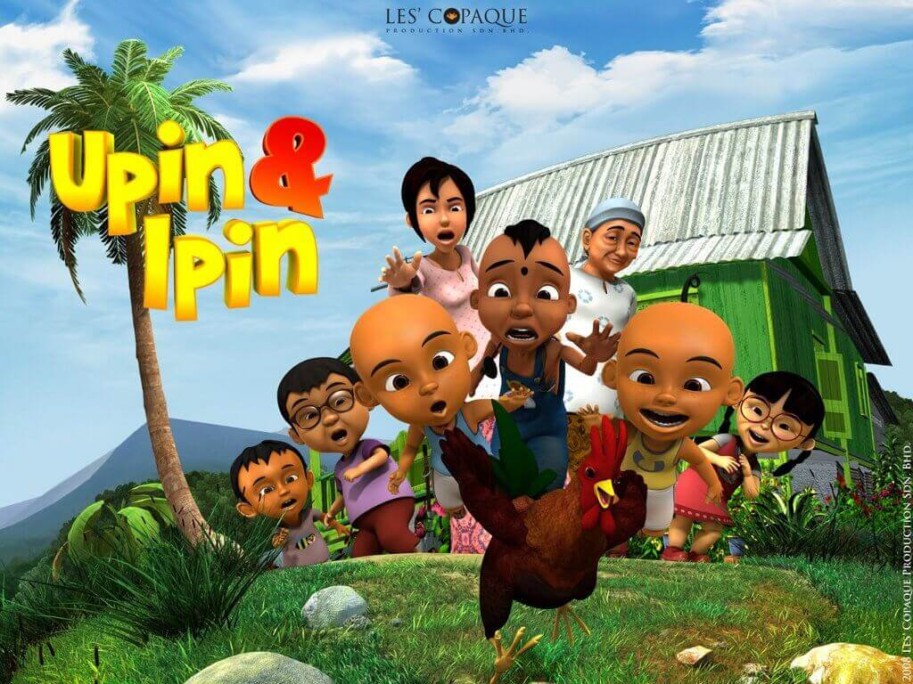 Image result for upin and ipin in cinema