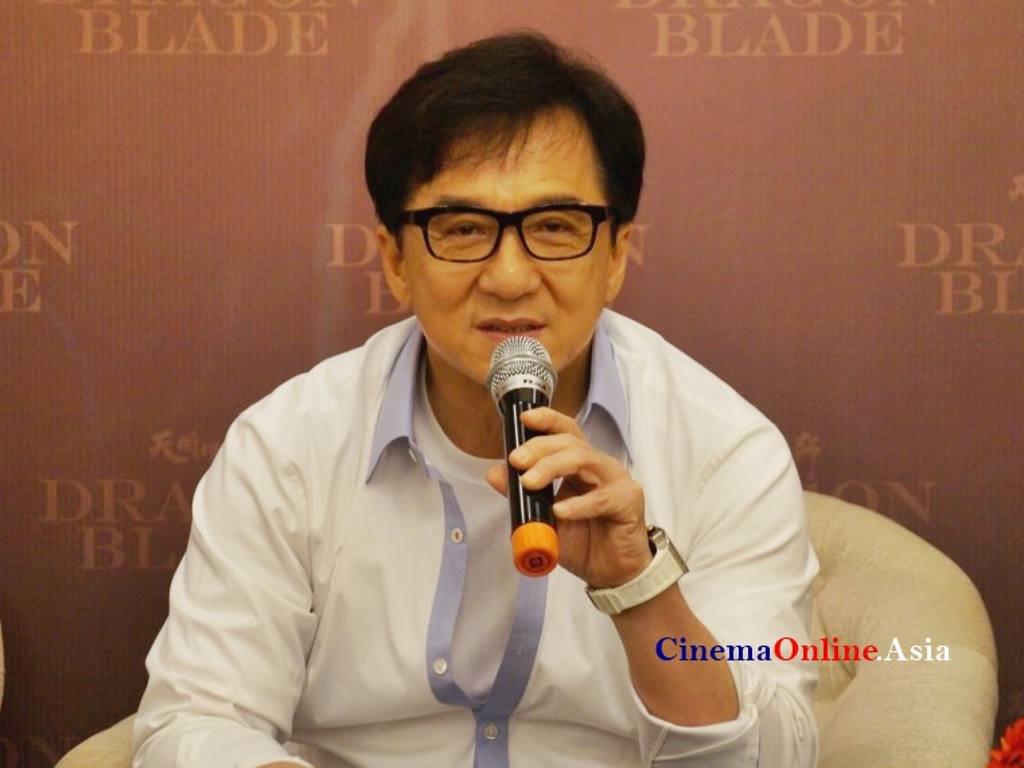 Datuk Jackie Chan will...