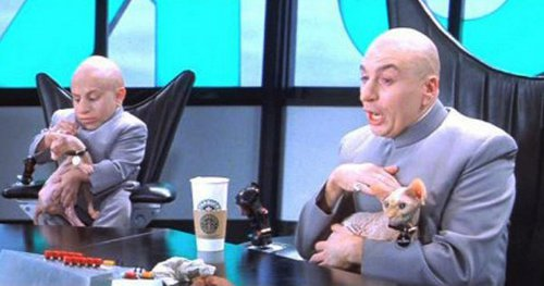 Austin Powers Dr Evil Cat Name