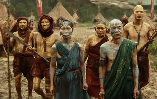 Noble Johnson between scenes ~ 601-P-3 | King kong 1933 ... |King Kong Native People