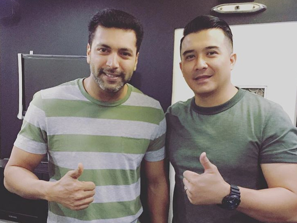 cinema.com.my  Aaron Aziz stars in first ever Tamil space thriller f321220ff0c