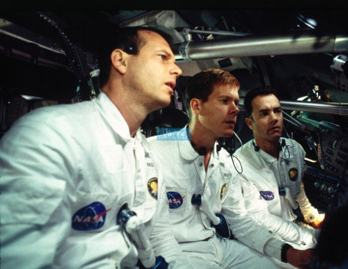 """Bill Paxton, Kevin Bacon and Tom Hanks in """"Apollo 13""""."""