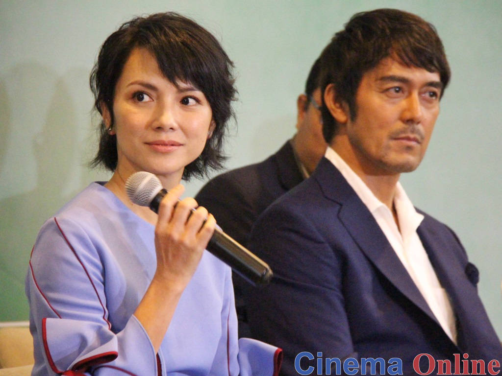 Angelica Lee Hiroshi Abe Talk About Adapting A Best Seller Into A Movie News Features Cinema Online
