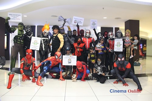 The Ultimate Cosplayers were excited to catch the latest superhero movie at  mmCineplexes eCurve. f7eec9da7a4