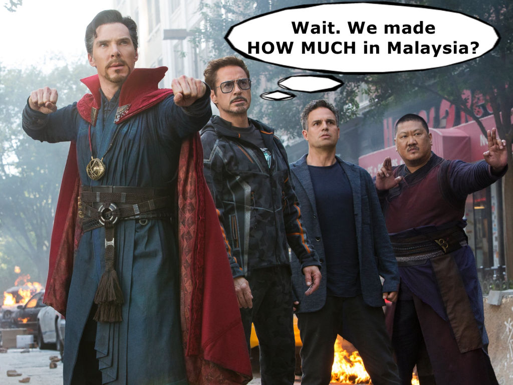 Avengers Infinity War Collects Rm65 Mil Is 1 Movie In Malaysia