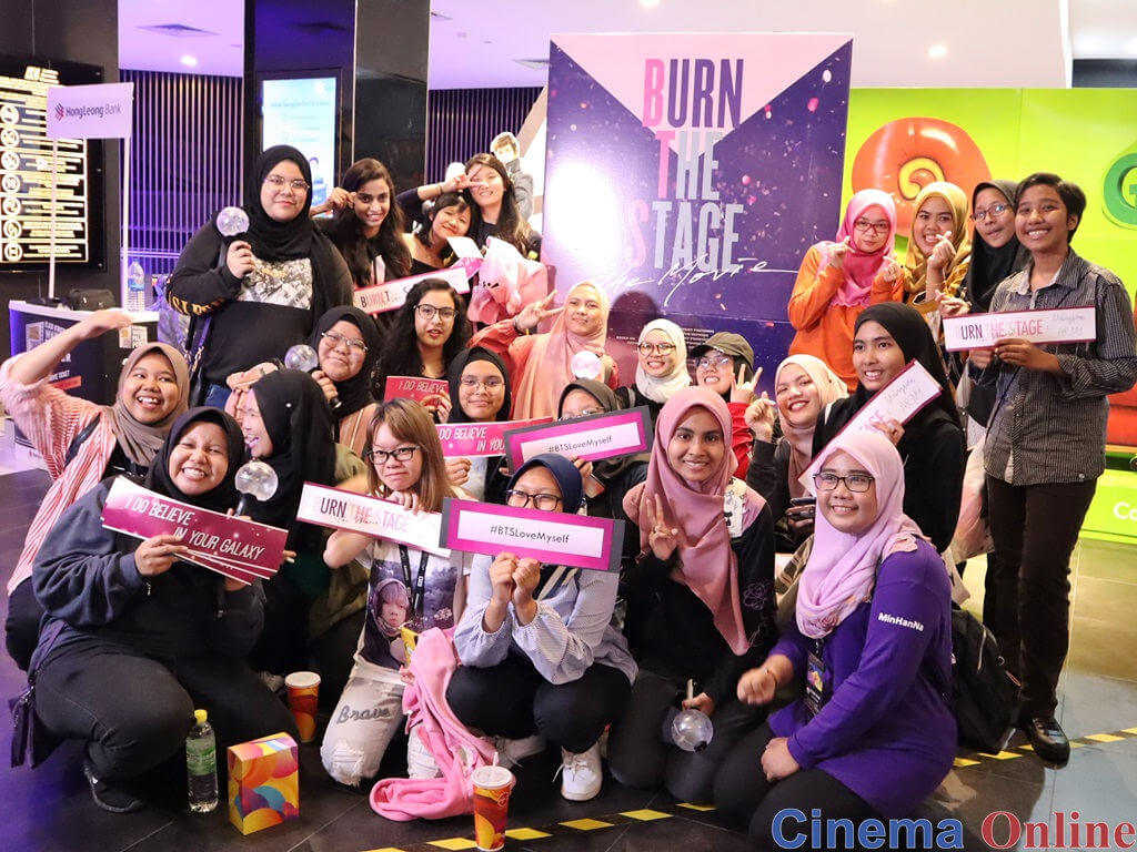 m cinema com my: Concert-like atmosphere at cinemas on BTS
