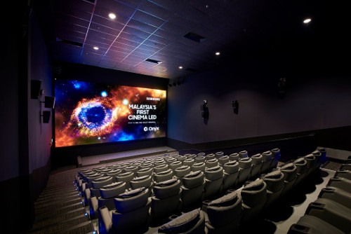 Cinema Com My Malaysia S First Cinema Led Screen Onyx Is Here