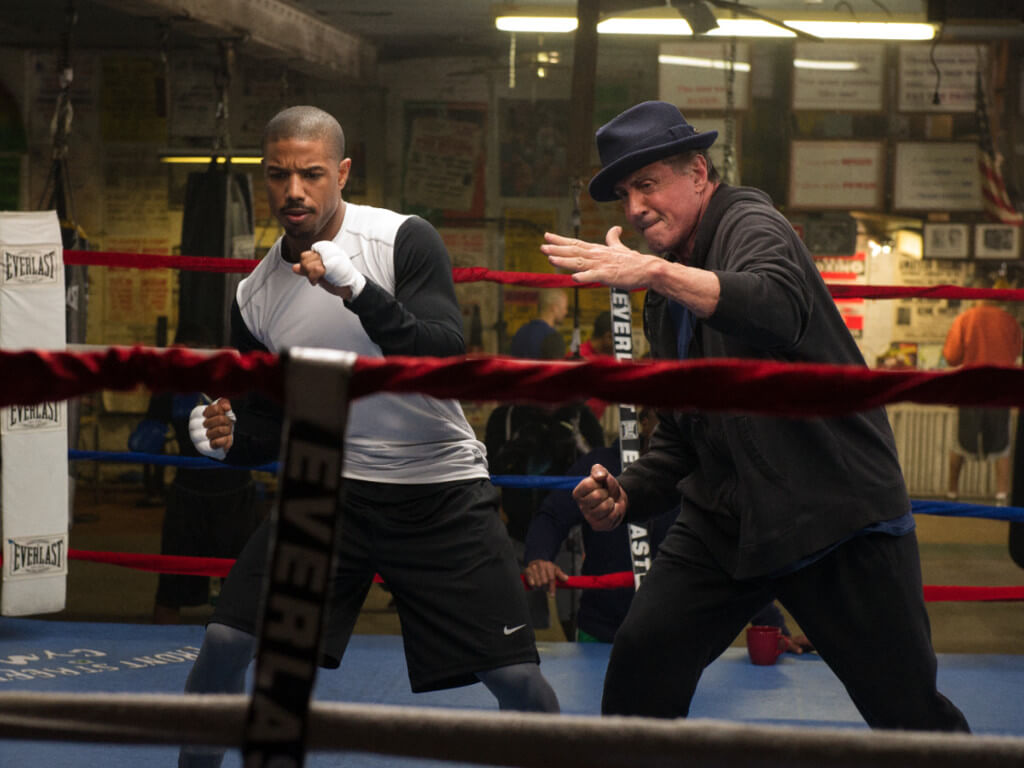 Sylvester Stallone Welcomes New Boxer To Creed 2 Cast News Features Cinema Online
