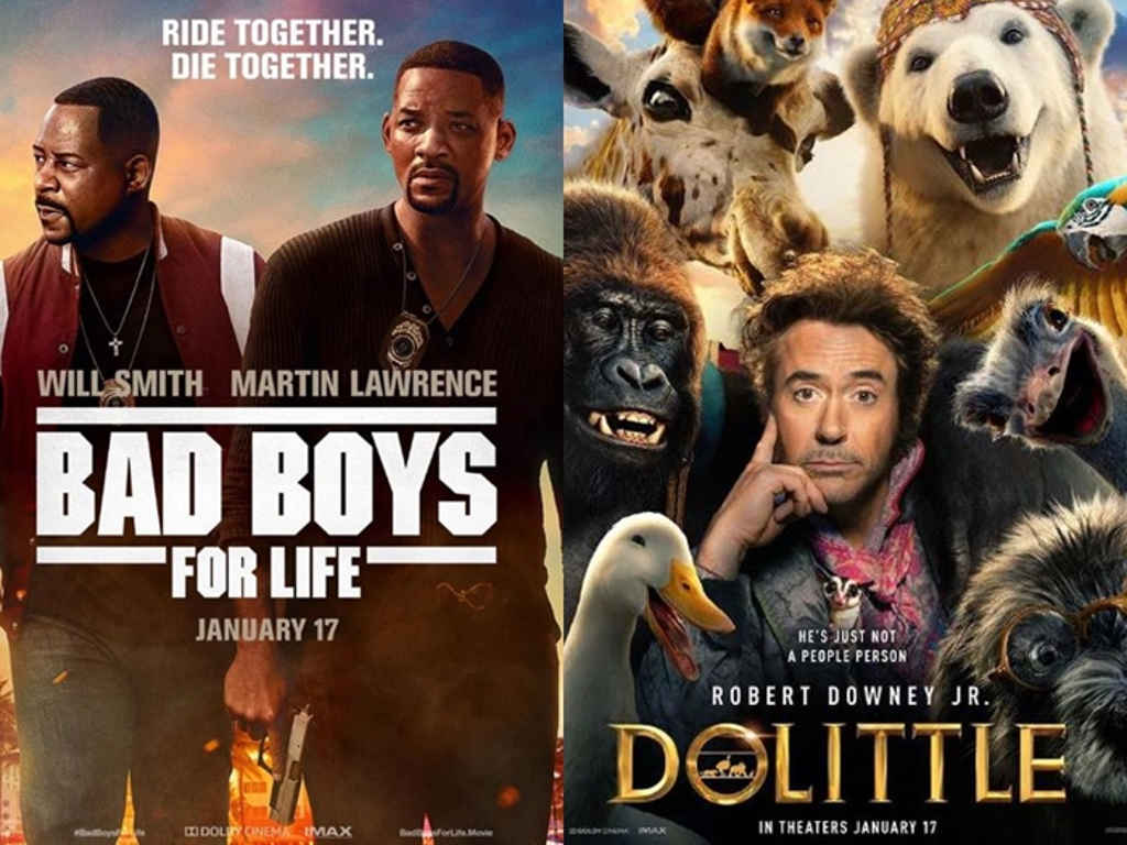 Did you see any of these movies in 2019?