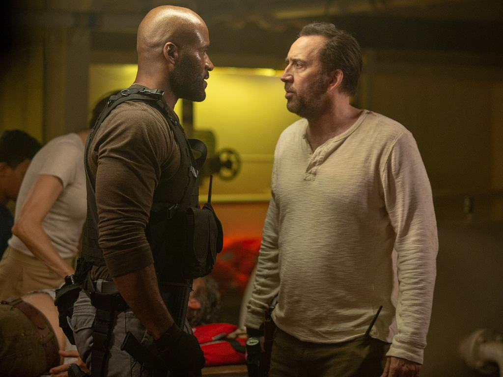 """Nicolas Cage goes """"Primal"""" in new action thriller"""