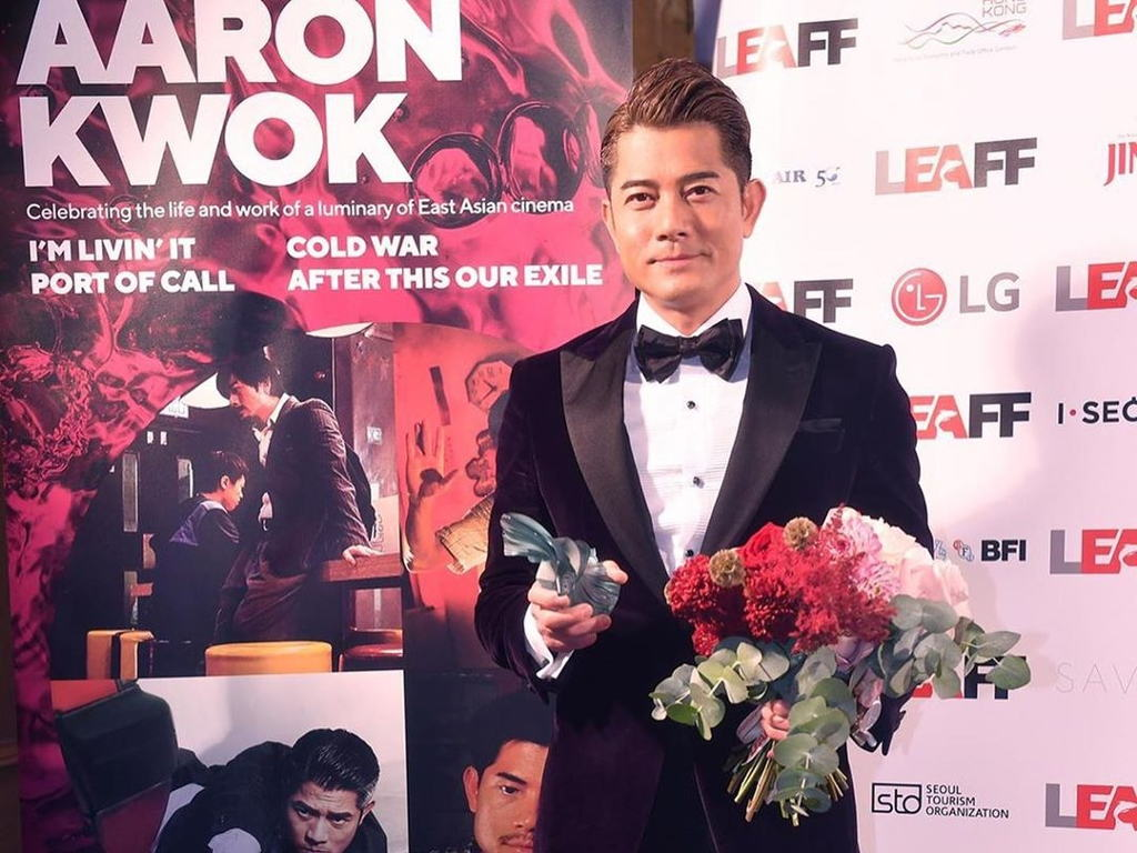 "Aaron Kwok won Best Actor for his role in ""I'm Livin' It""."