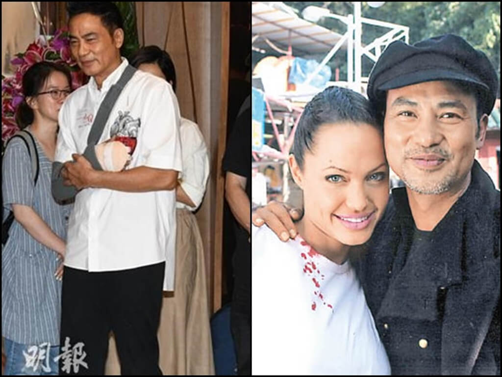 Simon Yam receives well wishes from Angelina Jolie