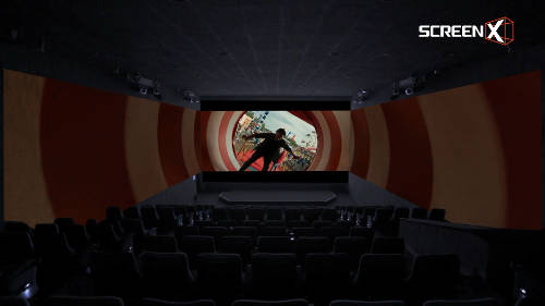 Enjoy a 270-degree viewing experience with ScreenX (Photo source: screen.co.kr).