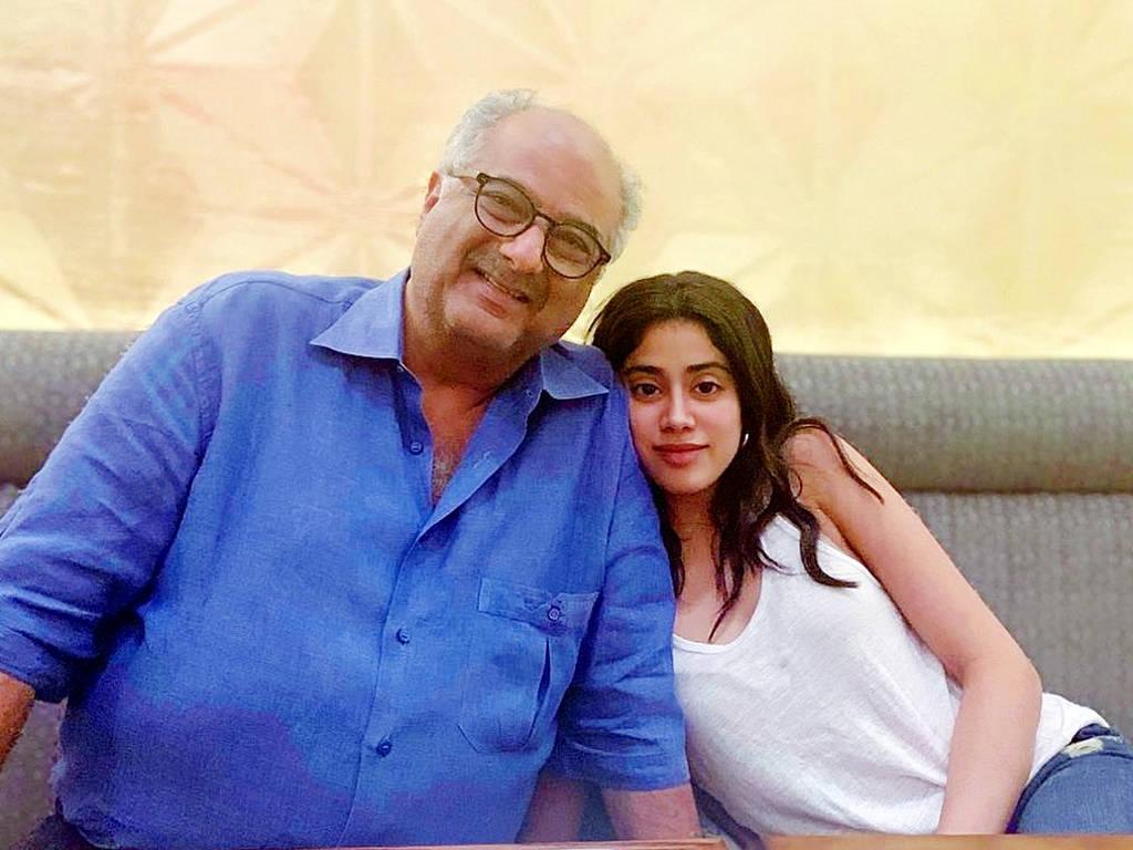 Boney Kapoor teruja bekerja dengan Janhvi buat pertama kali.