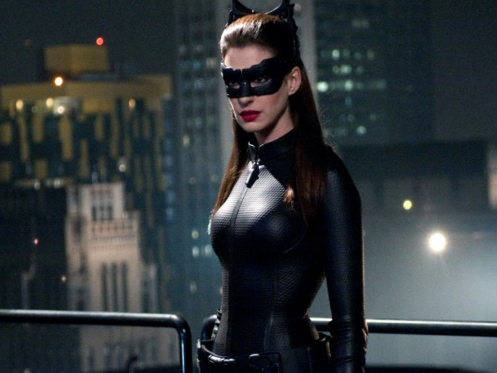 Catwoman was last portrayed on the big screen by Anne Hathaway.