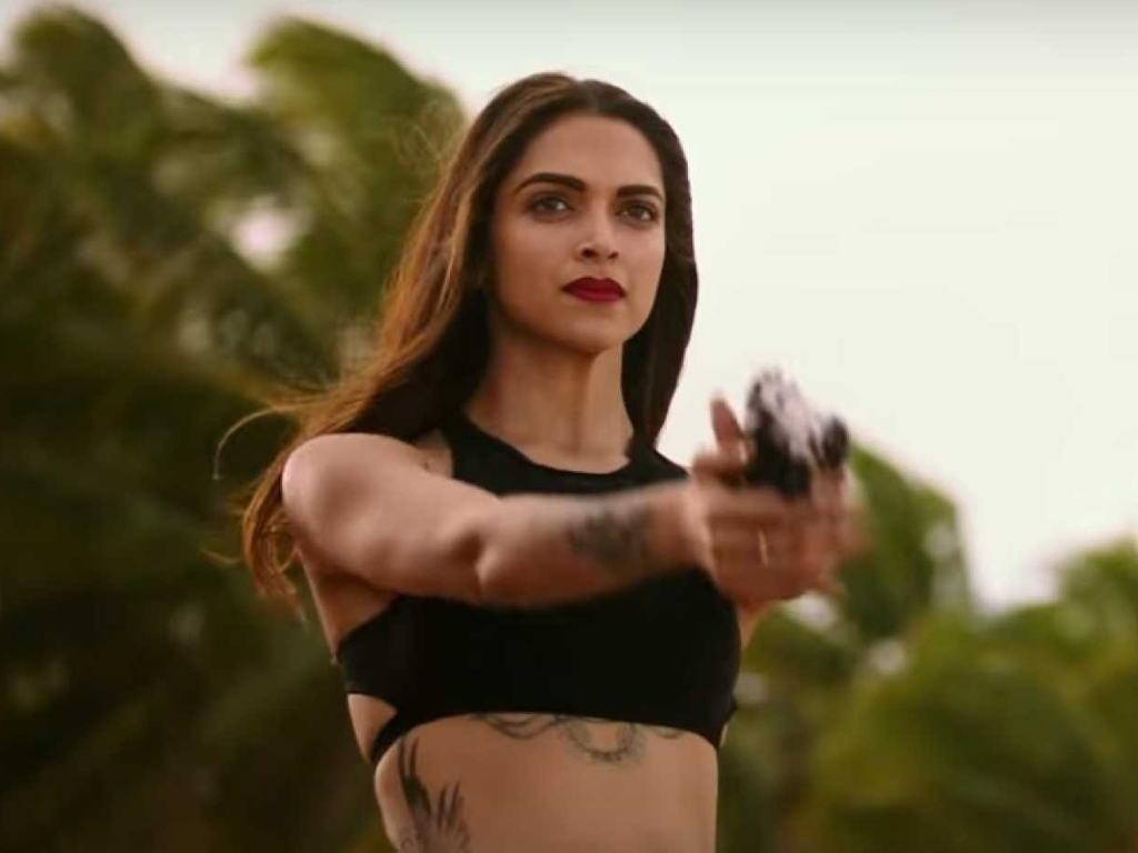 Deepika Padukone dalam salah satu babak 'XXX: Return Of Xander Cage'.
