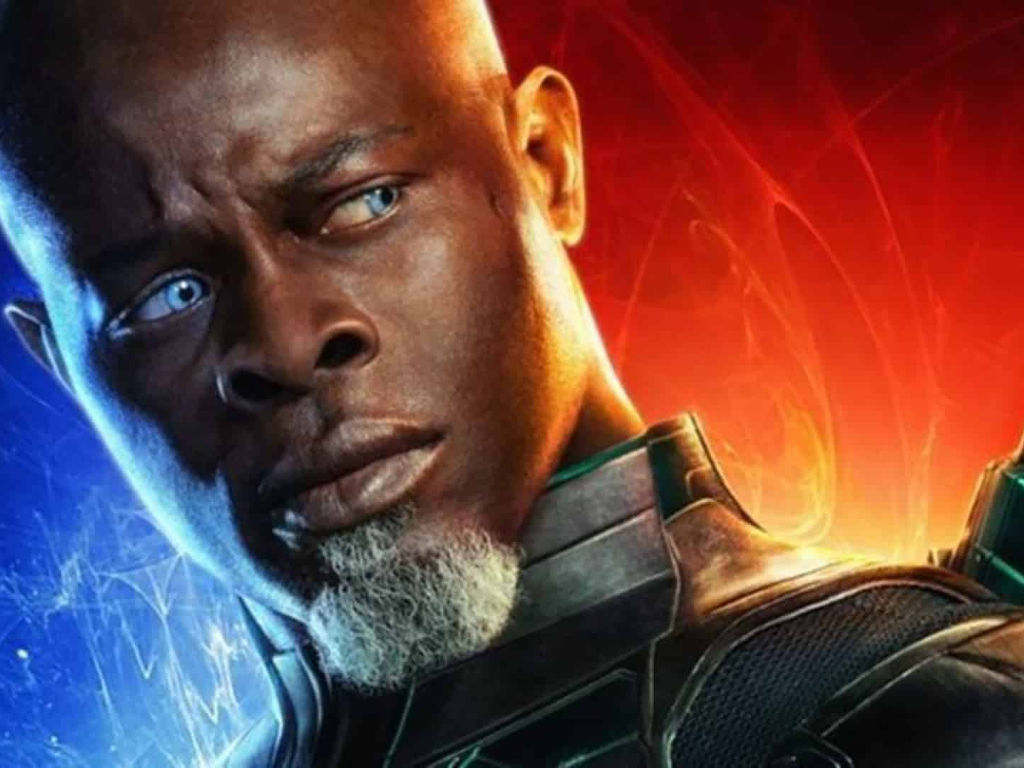 Djimon Hounsou will have to stay quiet in this horror sequel