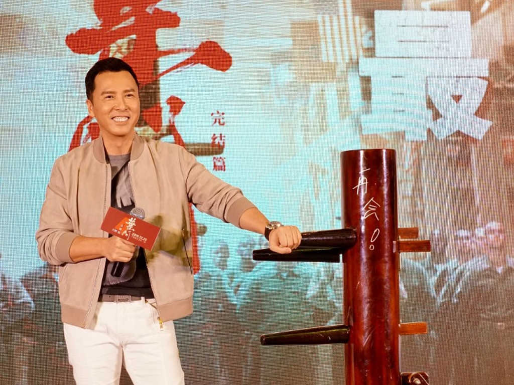 "No more kung fu movies for Donnie Yen after ""Ip Man 4""."