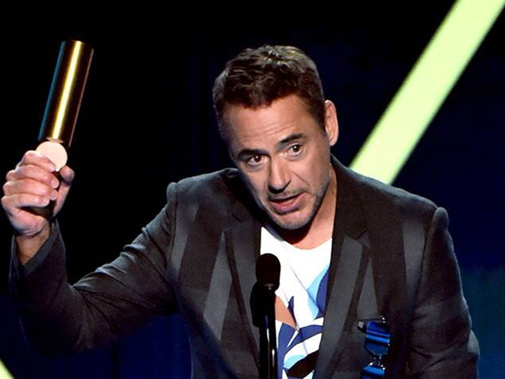 Robert Downey Jr. thanked the late Stan Lee in his acceptance speech.
