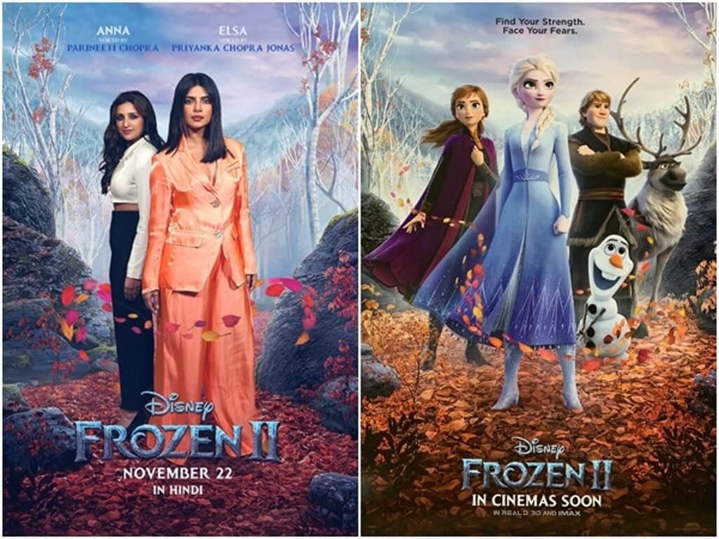 Priyanka dan Parineeti Chopra mengalih suara Elsa dan Anna dalam 'Frozen 2' Hindi.