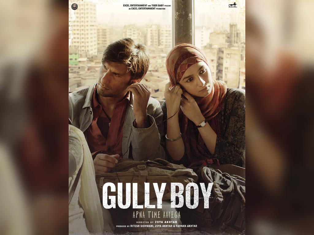 "Ranveer Singh dan Alia Bhatt dalam ""Gully Boy""."