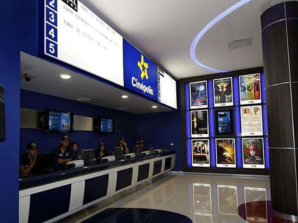 Mexico's Cinepolis also operates cinemas in countries like India, England and the US.