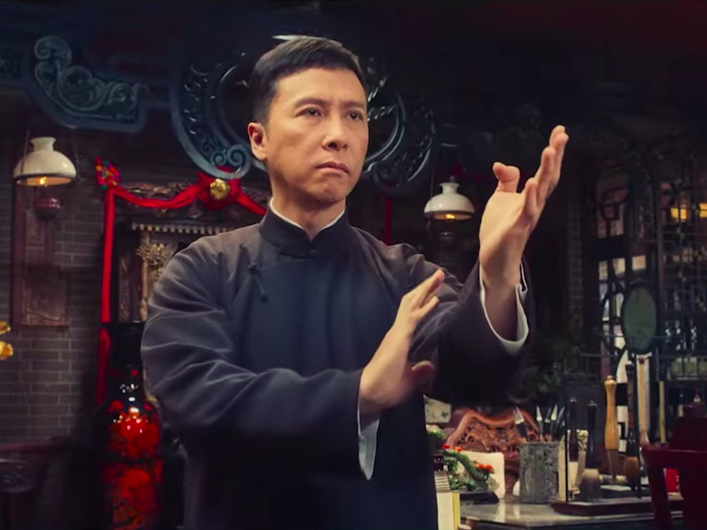 "Donnie Yen's final ""Ip Man"" movie set a new record at the local box office."