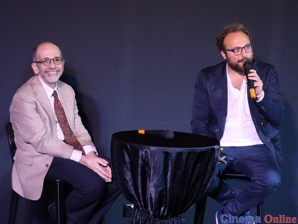 Ambassador of Italy, H.E. Cristiano Maggipinto (L), with filmmaker Luca Vullo at the launch of Italian Film Festival 2019.