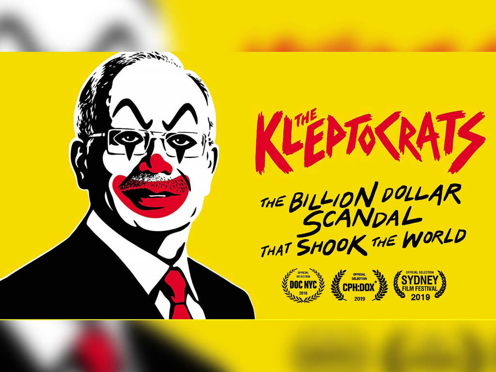 """1MDB exposé movie """"The Kleptocrats"""" is now available for streaming."""