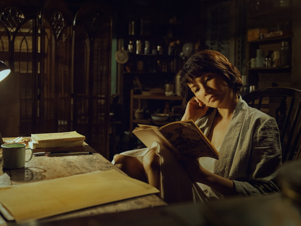 """Angelica Lee in """"The Garden of Evening Mists"""".""""."""