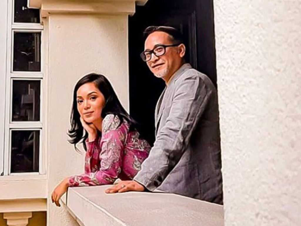 """Nad Zainal akan bergandingan dengan Hasnul Rahmat sebagai peneraju dalam filem biopik """"Hasmah""""."""