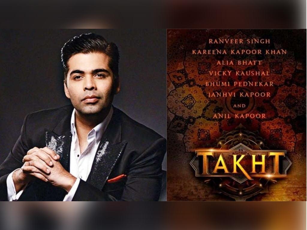 Karan Johar kini dalam peringkat akhir untuk siapkan skrip filem 'Takht'.
