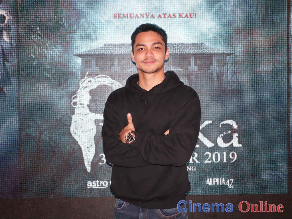 """Syafiq Kyle rasa tercabar oleh pengarah Razaisyam Rashid dalam filem """"Pusaka""""."""