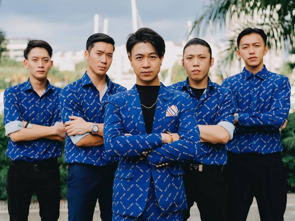 The Ah Boys here looking like such squad goal.