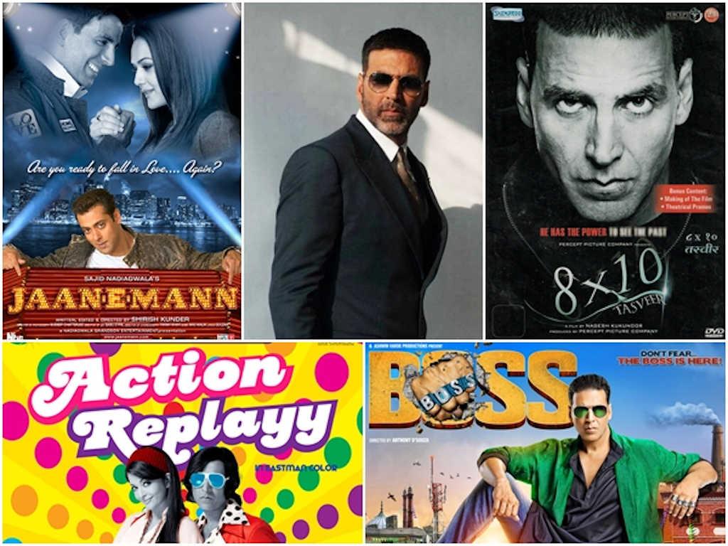 Akshay Kumar kaya dengan filem-filem pecah panggung dan filem-filem yang gagal.