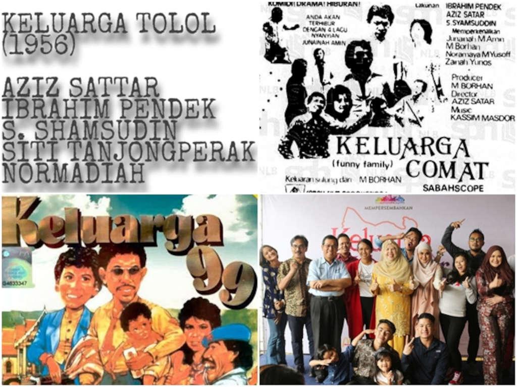 Kebanyakan filem bertema atau bertajuk keluarga di Malaysia membawa genre komedi.