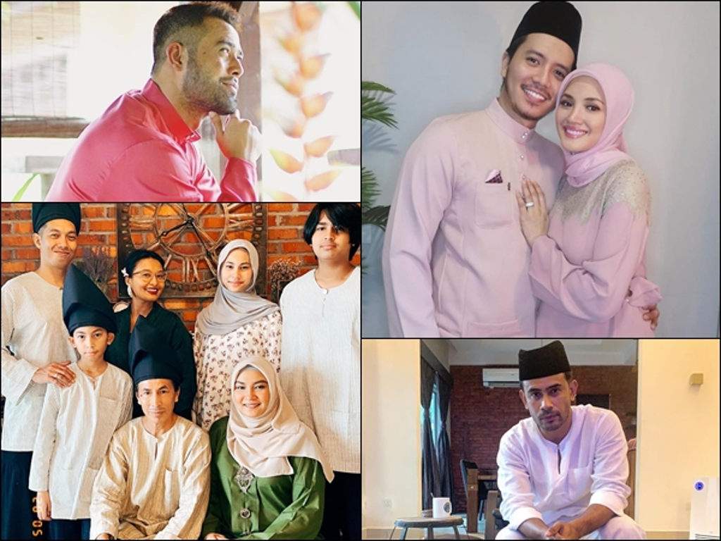 Even celebs adhere by the CMCO rules while celebrating Raya this year.