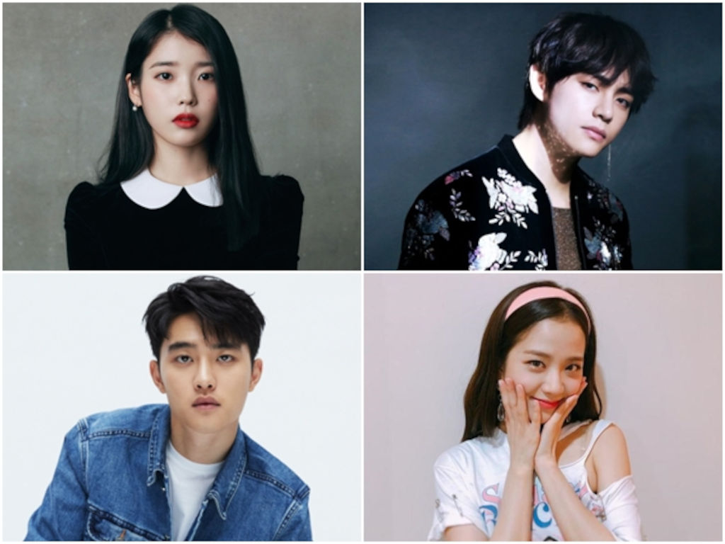 Adakah Kpop idol kegemaran anda berada dalam senarai ini?