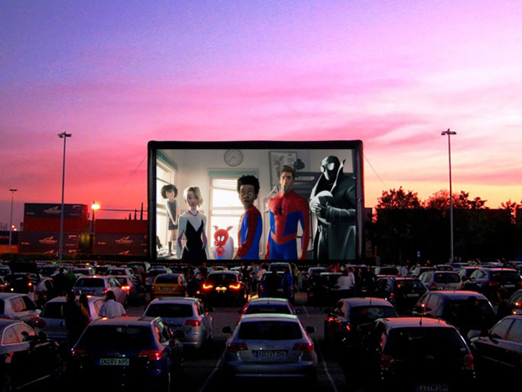 Get set, ready, park your car and enjoy the movie!