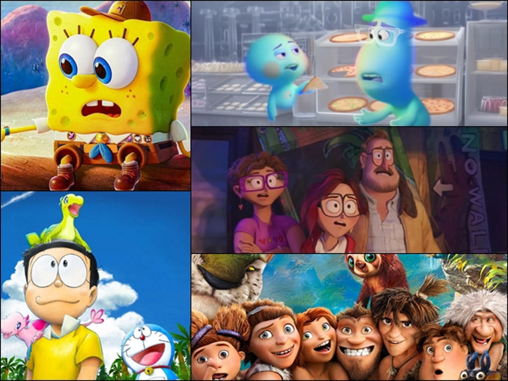 These animated films will be hitting the big screen sometime this year!