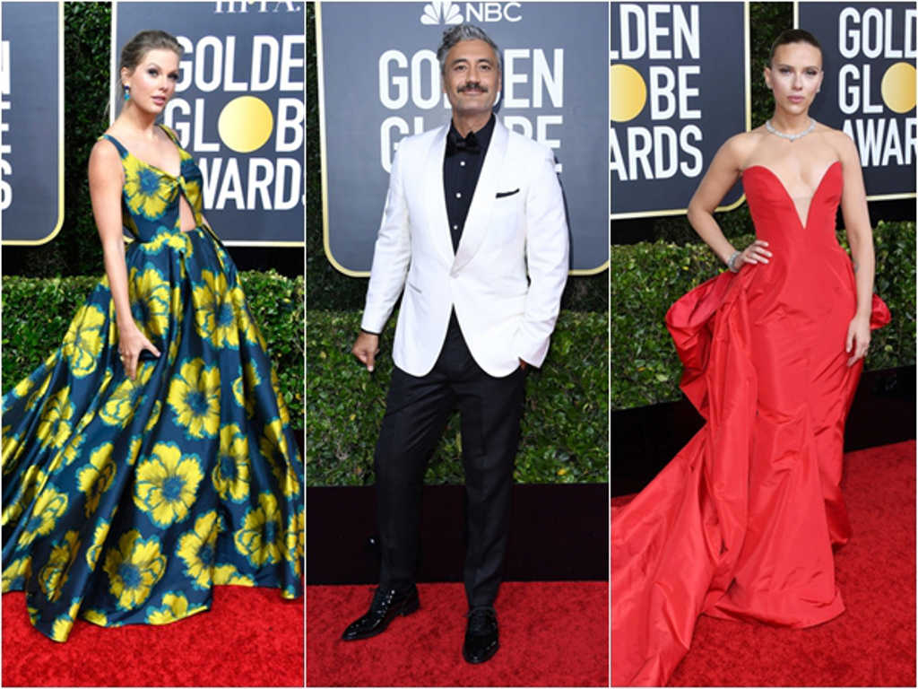 See the stars who dressed to impress at the 2020 Golden Globes
