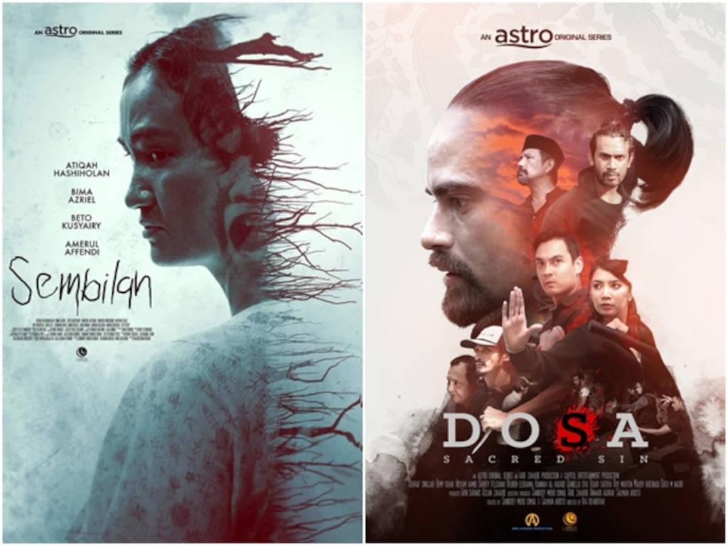 """""""Sembilan"""" dan """"Do[s]a"""" menggabungkan pelakon-pelakon hebat Malaysia, Indonesia dan Singapura."""