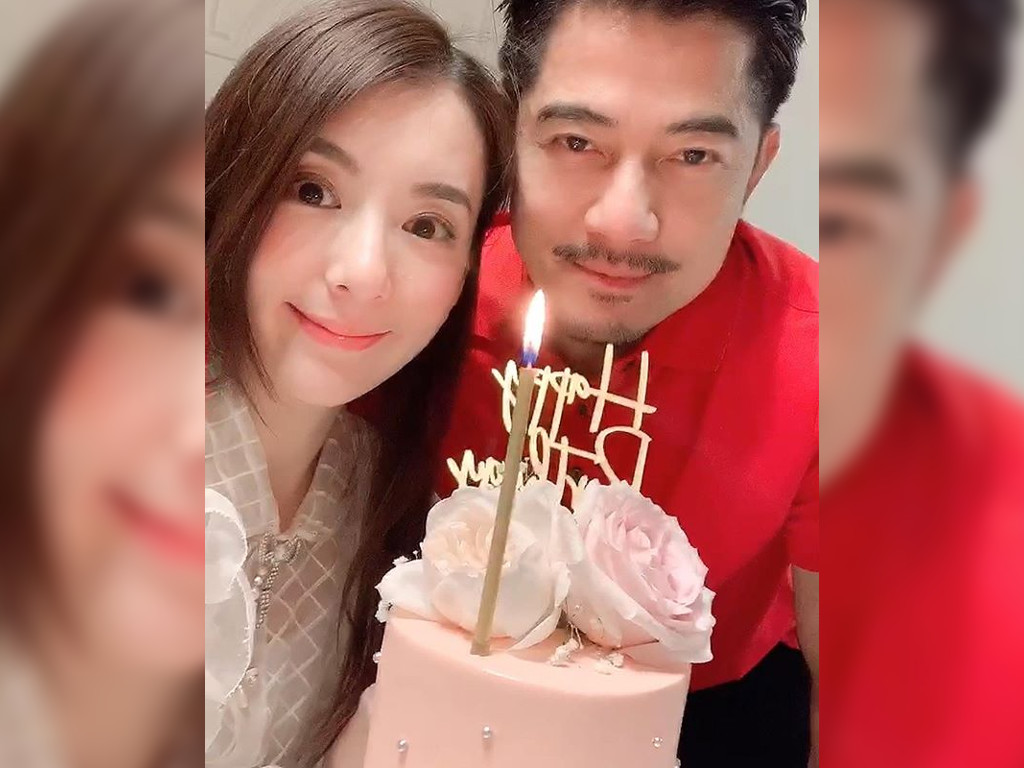 Moka Fang and Aaron Kwok have been happily married since 2017.