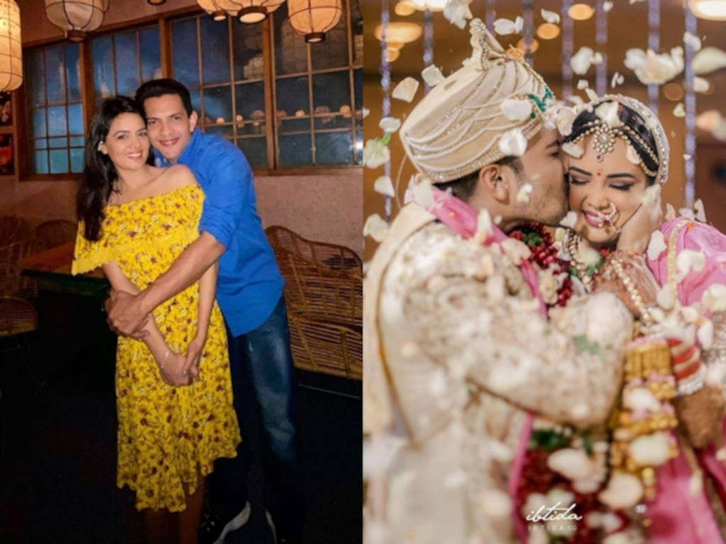 Majlis perkahwinan Aditya Narayan dan Shweta Agarwal disambut meriah.