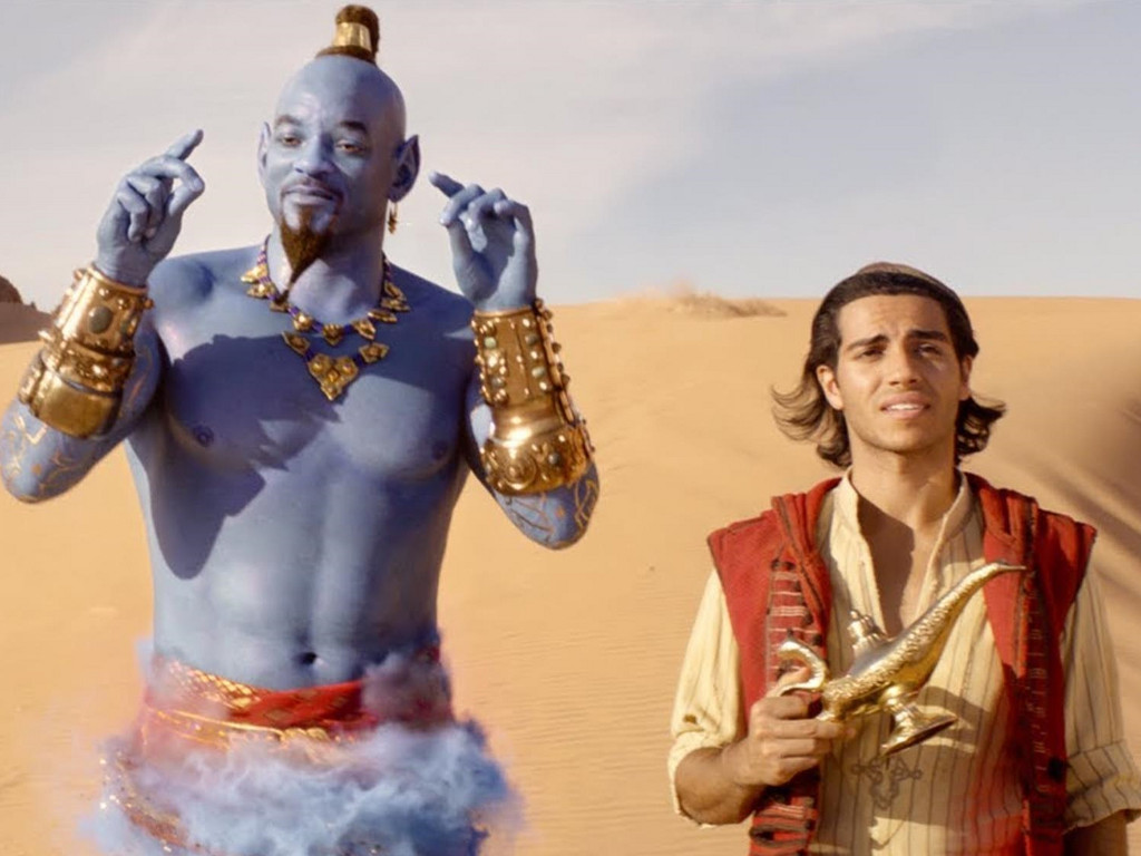 """Looks Will Smith and Mena Massoud might be teaming up again, this time for the sequel to """"Aladdin""""."""