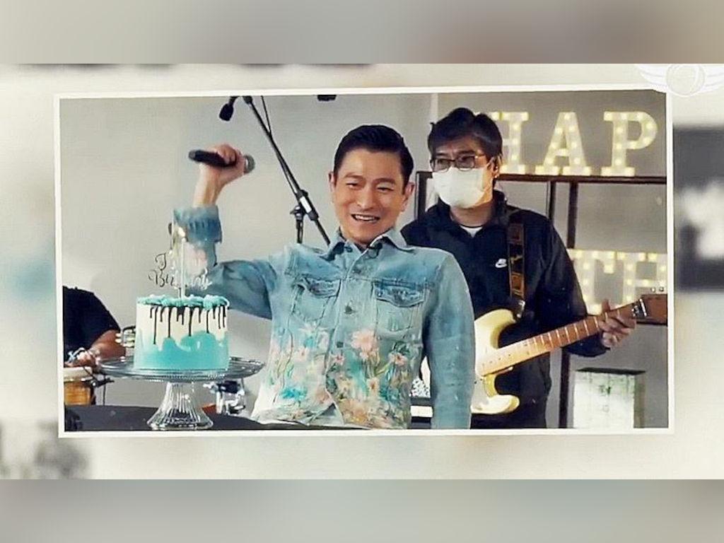Andy Lau celebrates 59th birthday online