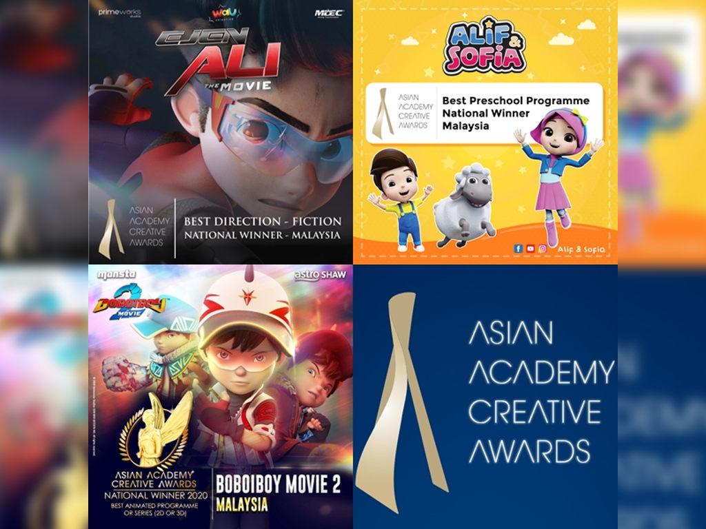 Tahniah buat semua pemenang yang mengharumkan nama Malaysia!